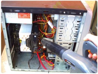 Opciones para limpiar una PC